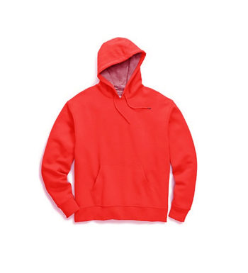 Summer Script Hood Heather Red